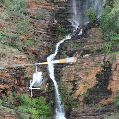 There`s no better view of the falls and Kakadu scenery.