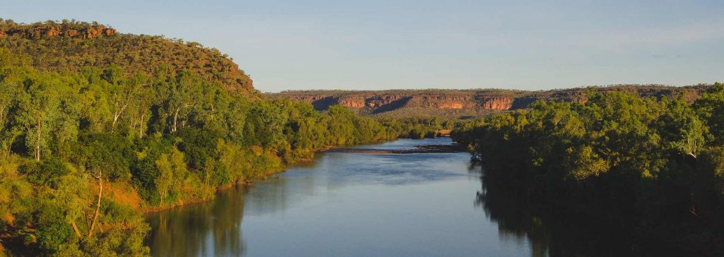 Helicopter View of Victoria River NT